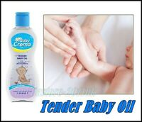 Baby Crema Tender Baby Oil age 0+ Vtm E Paraben Free for Hydration Skin 200 ml