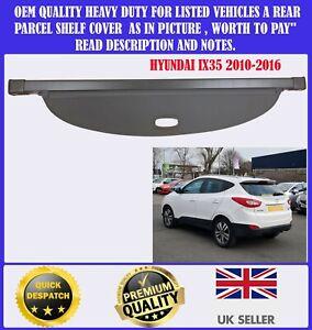 NEW FITS HYUNDAI IX35 2010-2016 PARCEL SHELF LOAD COVER BLIND BLACK BOXED