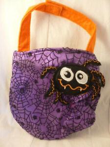 Trick or Treat Bag Purple Halloween Fancy Dress add-on