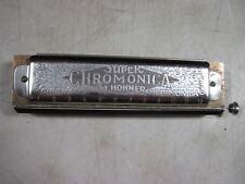 Vintage M Hohner Super Chromonica Chromatic Harmonica Key Of C Germany