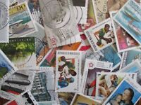 HENRY'S STAMPS-1000 WORLDWIDE - LARGE/MED FORMAT - CTO'S, COMMEMS -USED,OFF PPR