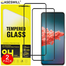 For ZTE Axon 20 5G Caseswill Full Coverage Tempered Glass Film Screen Protector