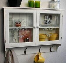 Hängeschränke aus Holz & Glas fürs Badezimmer