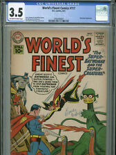 World's Finest #117 - May, 1961 - CGC 3.5 - (Batwoman appearance on cover)