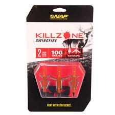 Archery Products 60-017 Mechanical Broadhead Killzone Swingfire 100 Grains
