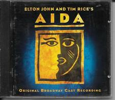 CD COMEDIE MUSICALE 22 TITRES--AIDA--ELTON JOHN & TIM RICE'S--2000