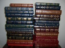 Easton Press LIBRARY OF FAMOUS EDITIONS Collection in 30 volumes