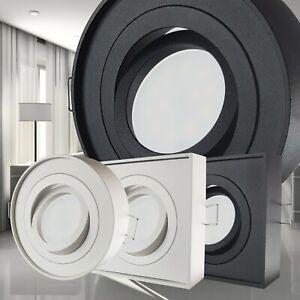 LED Aufbaustrahler Einbaustrahler Deckenleuchte Deckenspot schwenkbar 12V / 230V