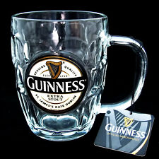 Guinness Dimple Glass Tankard, One Pint 0637