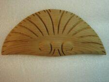 New listing Clock Case Trim Ornament Wood New