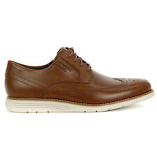 Rockport Men's Total Motion Sport Dress Wing Tip Hazelnut Shoes CH2508 NEW!