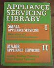 Appliance Servicing Library Volume I & II Robert Scharff Hardback Illustrated photo