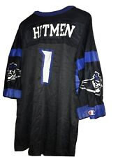 Vintage New York Hitmen Jersey XFL Champion Football Team Sz52