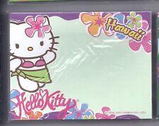 Sanrio Hello Kitty Sticky Notes Hawaii 30 Sheets Sarong Flower