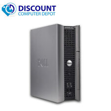Fast Dell Optiplex Desktop Computer Windows 10 Dual Core 2.60 PC 4GB 160GB Wifi