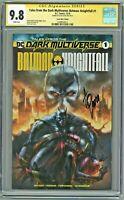 Tales from the Dark Multiverse Batman Knightfall 1 CGC 9.8 SS Comic Mint Quah