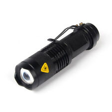 Super Bright CREE Q5 1200 Lumen 14500 Zoomable LED Flashlight Torch Light Lamp
