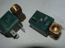 2 x CEME 55 12v-ac 9W 1,5 MM MAGLIE 1/8 BSP normalmente chiuso VALVOLA SOLENOIDE