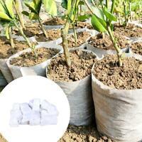 100x biologisch abbaubare Vlies-Pflanzgefäß-Pflanzgefäß-Blumentöpfe Umweltfreund