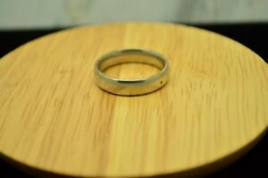 925 STERLING SILVER SIMPLE CLASSY DESIGN RING BAND SIZE 8.75 #22554