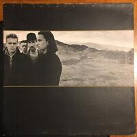 "U2 - THE JOSHUA TREE - Vinyl 12"" LP Island 1987 Gatefold Inners VG/VG+"