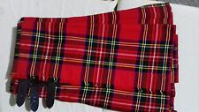 Royal Stewart Kilt Military style Kilt