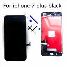 "LCD Touch Screen For Black iPhone 7 Plus 5.5"" Digitizer Replacement Assembly UK"