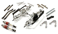C25624SILVER Alloy 6X6AWS Conversion Kit for 1/10 Trail Roller Scaler Crawler
