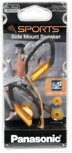 Panasonic RP-HS200E-A Gold Water Resistant Sport Ear Hook Headphones Earphones