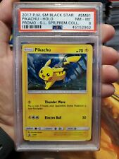 PSA 8 SM81 Pikachu Holo Shining Legends Super Premium Collection Card 2017 Card