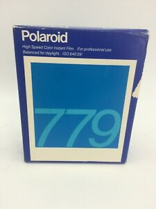 New (Sealed) Pack Of 20 Polaroid 779 Instant color Film Expired 08/90 (AH)