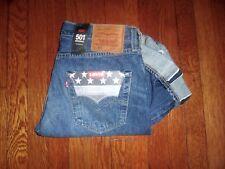 Levis 501 Made in USA Coniche Mills Red Line Selvedge Big e Originale Jeans