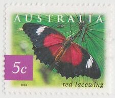 (DC515) 2004 AU 5c Rain Forrest Butterfly (Q)