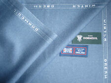 DORMEUIL80%WOOL &20% SILK WORSTED JACKETING FABRIC<Winter Dream>By Dormeuil-2.0m