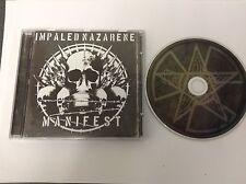 Manifest 2008  Import by Impaled Nazarene RARE CD - MINT