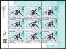 POLAND 2018 MNH** SC# Special Sheet - Winter Paralympic Games - PyeongChang