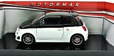 MODELLINO AUTO FIAT 500 ABARTH SCALA 1/24 CAR MODEL MINIATURE DIECAST MODELO NEU