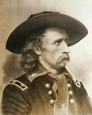 Old West Photo Print General George Custer 1860s Western Cavalry Military