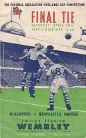 * 1951 FA CUP FINAL - BLACKPOOL v NEWCASTLE UNITED *