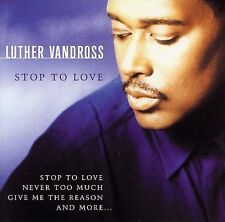 New: Luther Vandross: Stop To Love Original recording remastered, O Audio CD