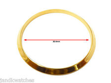 Gold Plated Smooth Bezel to Fit Rolex Mens Datejust & President 36mm Case