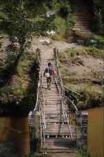 792054 Suspension Bridge Bali Indonesia A4 Photo Print