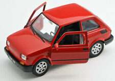 Spedizione LAMPO FIAT 126 P Rosso/Red Welly Modello Auto 1:27 NUOVO & OVP