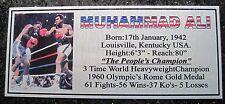 Boxing Muhammad  Ali Photo colour name Free Postage