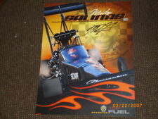 "2019 MIKE SALINAS ""SIGNED"" ""SCRAPPERS"" TOP FUEL NHRA POSTCARD"