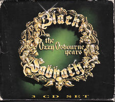Black Sabbath Ozzy Osbourne Years (1991) Rare 3 CD box set with booklet