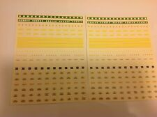 SET OF DECALS 1/87 HO SCALE TRAIN CARS GOODS JOUEF 1960-1970