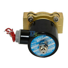 """2 way Solenoid Valve NPT Direct Operation 3/4"""" AC 220V Air Gas Normally Closed"""