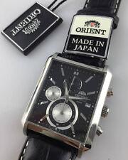 OROLOGIO Orient VINTAGE SPORTY Analog Chronograph Watch STTAE002B0