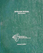 Intercept Shield Coin Album Jefferson Nickels Usa 2002-Date Museum Quality New